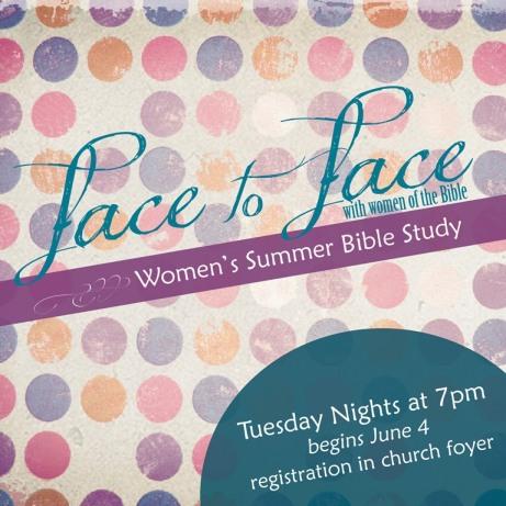 face to face women's summer study