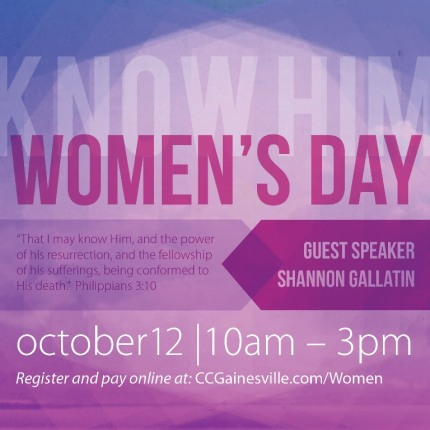 Women's Day with Shannon Gallatin